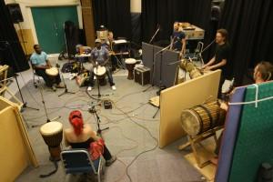 Tanante Recording at Salford University